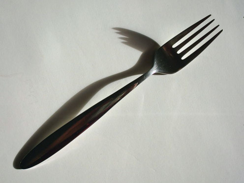 Forks are dangerous (rights via GFDL)