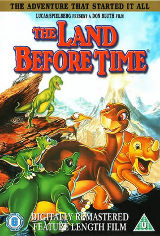 DVD cover of The Land Before Time