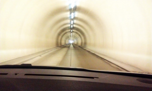 nothing compares with a 30 minute ride in a tunnel