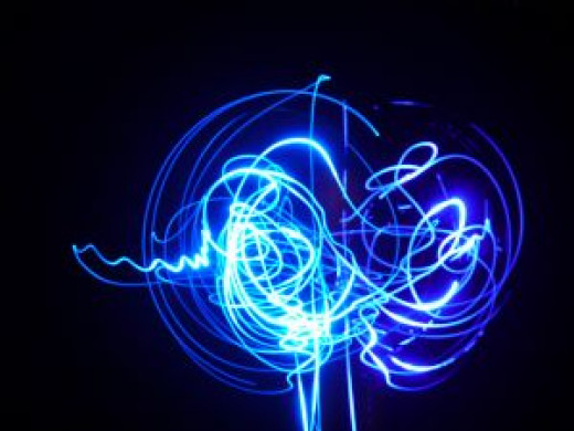 The interesting designs made by LED Poi