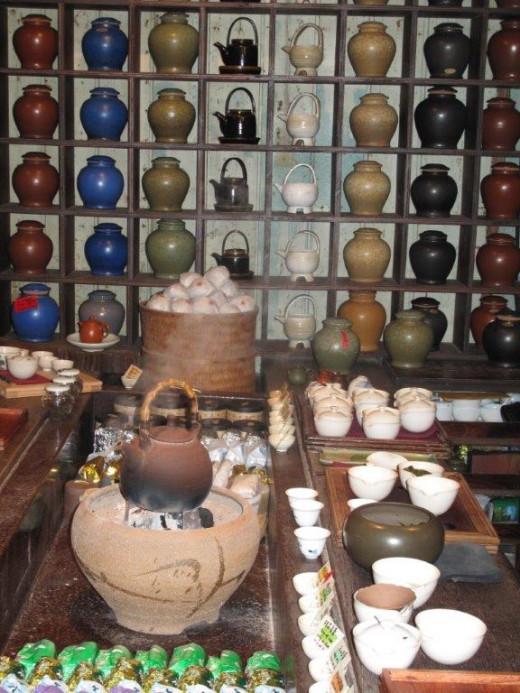 Jioufen teahouse Taiwan