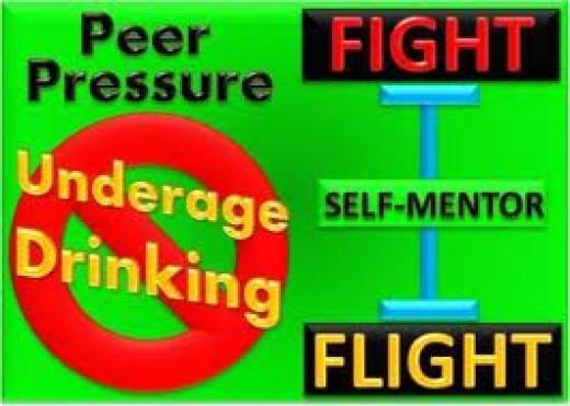 Don't fall for peer pressure