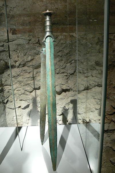 A Bronze Age sword