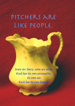 Cream Pitcher People | a Collection