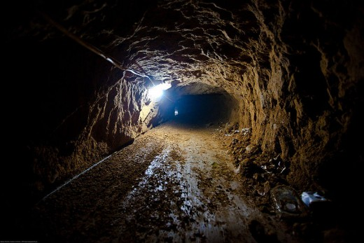 Smuggling Tunnel-Gaza Strip
