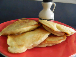 Sour Cream Pancakes from Cross Creek Cookery by Marjorie Kinnan Rawlings