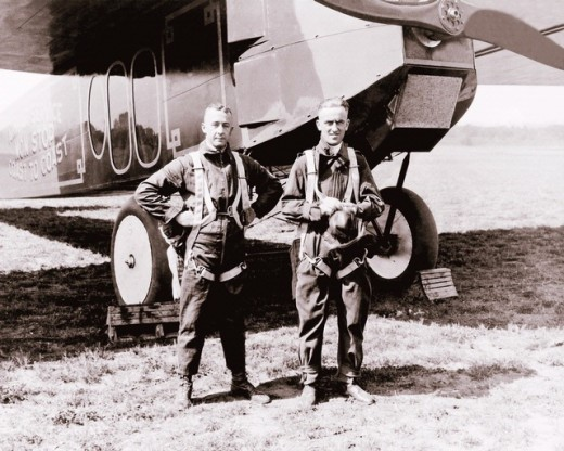 John Macready and Oakley Kelly flew the Fokker T-2 on an historic flight 90 years ago.