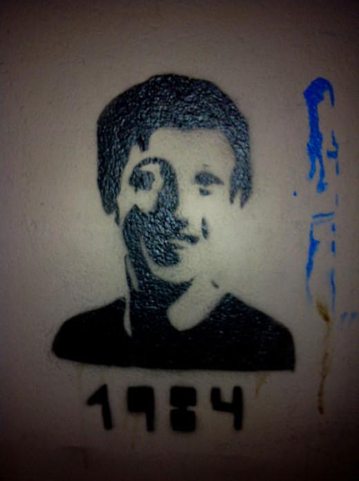 Berlin graffiti.