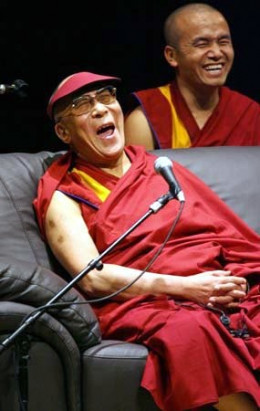 His Holiness the Dalai Lama, the spiritual leader of the Tibetan people, is the best prove that meditation increases happiness.