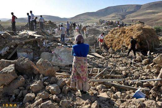 Iran's death quake