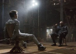 Tom Cruise and Morgan Freeman star in the post-apocalyptic thiller Oblivion from Universal Pictures