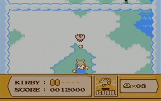 This is another mini game that appears at the end of the level, you launch Kirby up into the sky for points!
