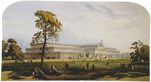 GREAT EXHIBITION IN THE CRYSTAL PALACE IN HYDE PARK, LONDON, 1851