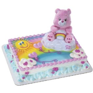 Perfect cake topper for a Care Bear fan