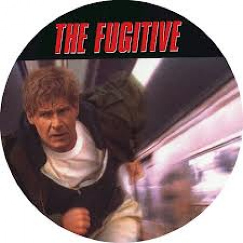 Harrison Ford and Tommy Lee Jones stars in The Fugitive. Ford plays a Doctor who is accused of killing his wife.