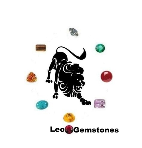 Leo Gemstones : Diamond, Amber, Citrine, Carnelian, Tiger Eyes, Emerald, Turquoise, Kunzite and Ruby.