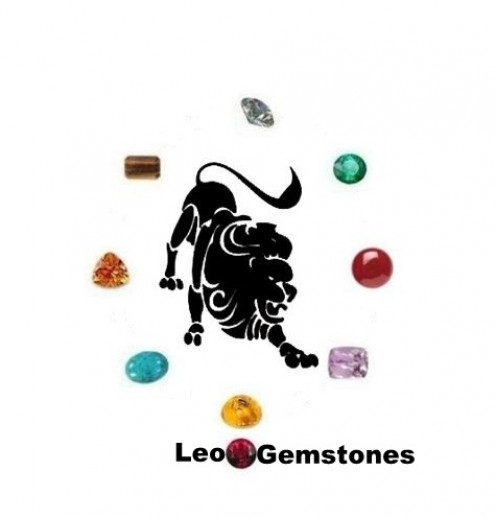 Leo Gemstones : Diamond, Amber, Citrine, Carnelian, Tiger Eyes, Emerald, Turquoise, Kunzite and Ruby.