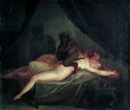 Nightmare, Nicolai Abraham Abildgaard (1800)