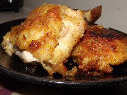Oven Fried Chicken is Easy to Make and Less Greasy