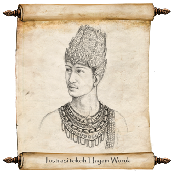 Hayam Wuruk, The 4th king of Majapahit