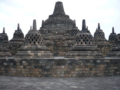Borobudur temple, Central Java, Indonesia. It show how advanced Indonesian Technology at the time.