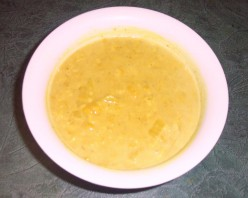 Delicious Curried Coconut Almond Soup