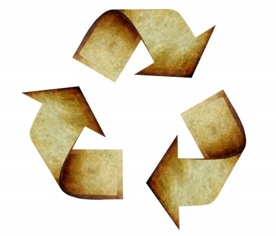 Recycling helps save money.