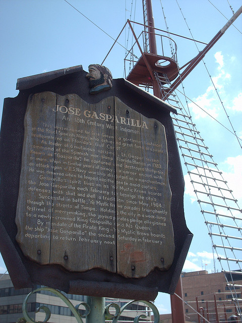 """Gasparilla's """"Ship"""""""