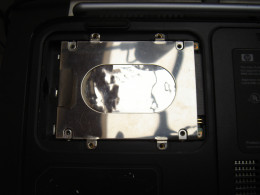 Added back a hard drive caddy to hold the hard drive in position.