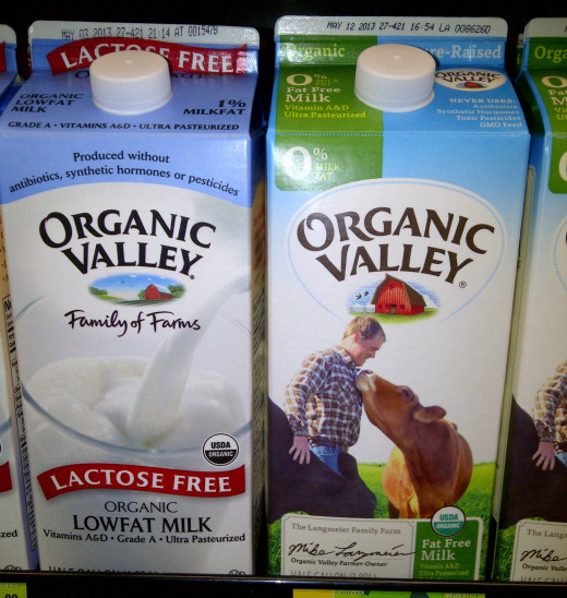 Organic Milk Varieties: Lactose Free and Fat Free
