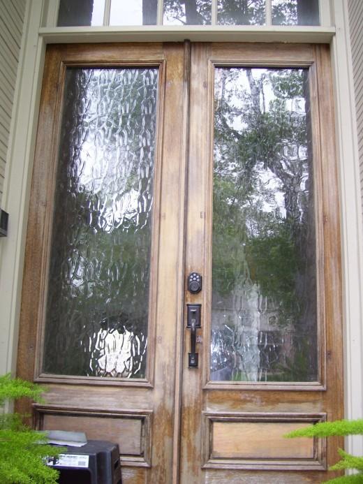 Front Door Needs Refurbishing