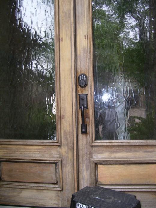 Unstained Sanded Door