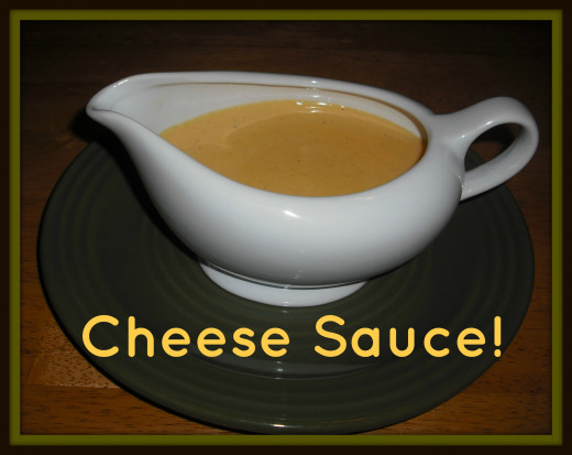 There's nothing better than a gravy boat full of cheese sauce...