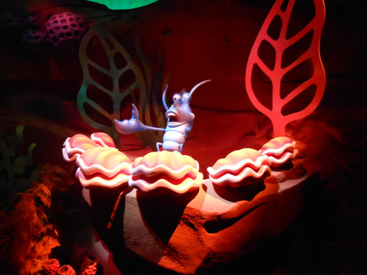 The Little Mermaid ride will be your first FastPass of the day; send one person from your group to get a pass for everybody while the rest of you grab a snack!