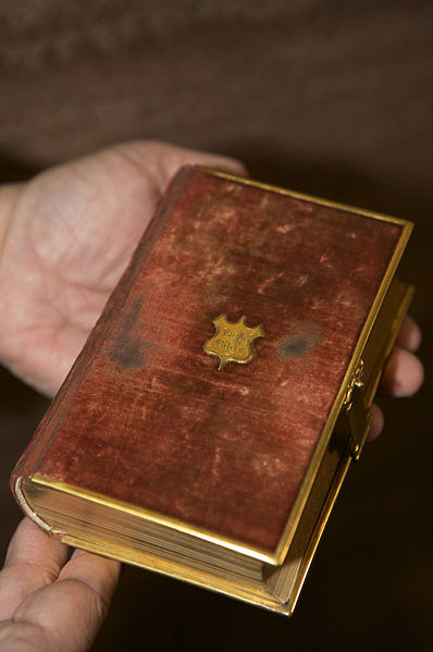 Lincoln Bible, donated by the family to the Library of Congress.