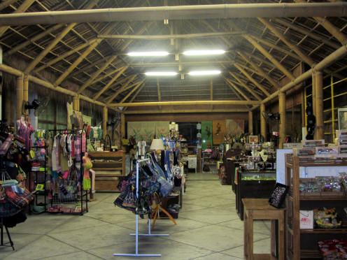 Inside Sidlakang Negros Souvenir Shop