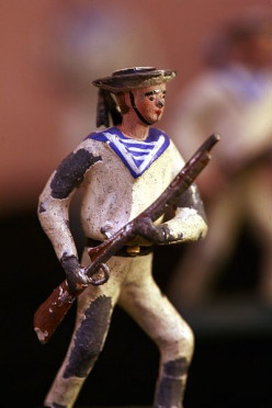 Photographing Toy Soldiers