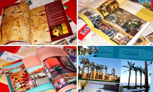 Travel Catalogue Design