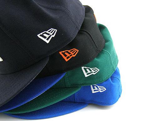 Caps displaying the New Era logo