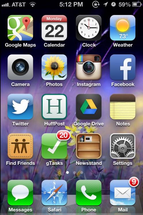 Full Screenshot on iPhone