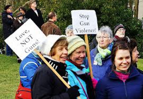 Gun Control is and should be a hot topic. People have picketed all over this nation trying to get some answers.