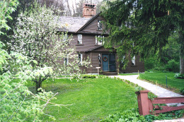 "Orchard House, where Louisa May Alcott wrote the beloved children's classic ""Little Women,"" is open to the public."