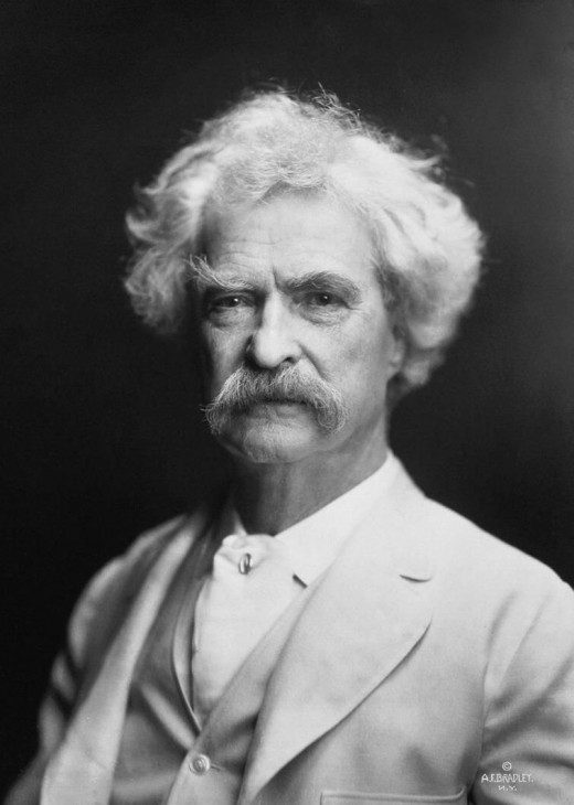 Visiting the homes of famous authors in America can give readers a whole new perspective n and appreciation for their favorite writers. (Author pictured is Mark Twain.)