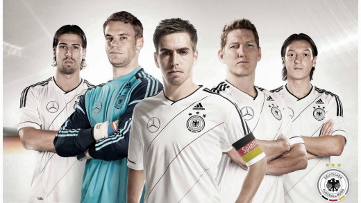 These are the new leaders of the German team. Can they live up to the expectations? We will find out in the summer of 2014!