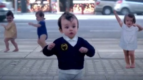 Evian last viral video shows us a reflection of our inner baby