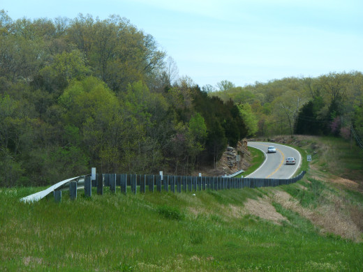 The rolling Ozarks are stunning in the springtime, and traffic flows well - at least, if you get to Branson before the tourist season officially kicks in!