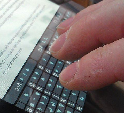 Multi-finger input