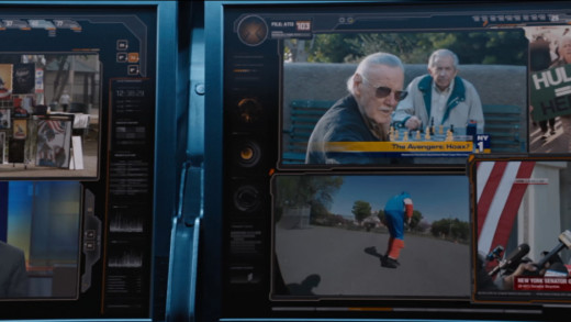 Stan Lee Cameo in the Avengers