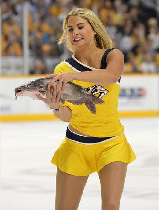 Come Playoff time, it's better to resemble the catfish girl than the dead catfish