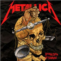 "Metallica's ""Harvester of Sorrow"" single, aka My Ticket to Import Metal Coolness"